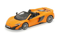 #537154431 - Minichamps Mclaren 675LT Spider - Mclaren Orange - 1:43