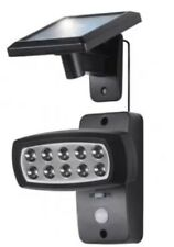 Solar 10 LED Luz del sensor de movimiento giratorio de ruta de seguridad Spotlight Ultra Brillante