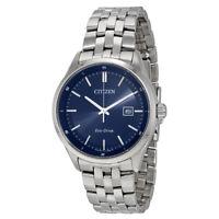 Citizen Eco-Drive Men's Calendar Date Blue Dial 41mm Watch BM7251-53L