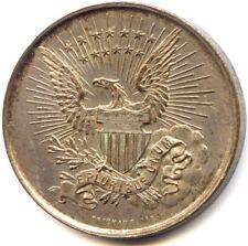 Médaille USA Etats-Unis Souvenir de la visite du comte de Paris 1890