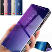 Flip Mirror Cover Smart View Case For Samsung Galaxy J2 / J5 / J7 Prime