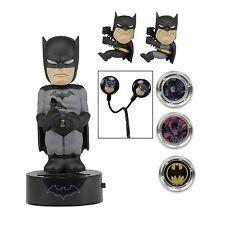 DC Comics BATMAN Caja SET DE REGALO BODYKNOCKER Escalador Hubsnaps Auriculares