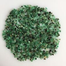 70 CT SCOOP TINY NATURAL EMERALD GREEN ROUGH GEMSTONES LOOSE MINERAL LOT RAW