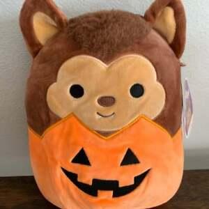 "Squishmallow 5"" Wade the Werewolf, Kellytoy Halloween 2021, Gift Plush Hug Toy"