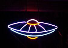 "New UFO Aliens Outta Space Neon Light Sign 24""x20"""