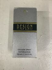 DESIGN FOR MEN BY PAUL SEBASTIAN 3.4 OZ COLOGNE SPRAY FOR MEN NEW IN BOX