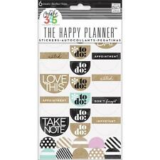 To Do Stickers Neutral The Happy Planner Create 365 Planner Stickers 6 Sheets