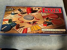 Adult Game: Save Our Bureaucrats (SOS) Board Game......Created 1980 in Montana.