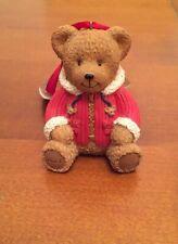 Harrods  Christmas Resin Teddy Bear 2007 BNWT NEW Rare