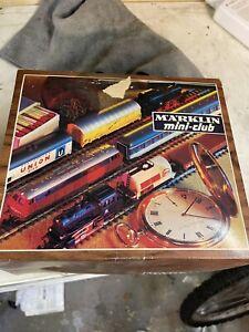 MARKLIN Vintage Train Set