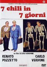 Sette chili in sette giorni (1986) DVD