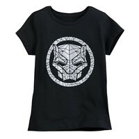Disney Store Marvel Black Panther T Shirt Tee for Girls Size 7/8 10/12 14 New