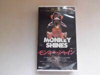 George A. Romero MONKEY SHINES japanese movie VHS japan
