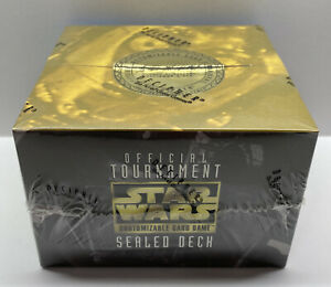 STAR WARS CCG Decipher Official Tournament FACTORY SEALED Deck OTSD New