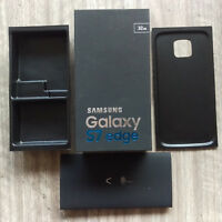 EMPTY BOX ONLY RETAIL PACKING WITH FACTORY FILM SEAL FOR SAMSUNG GALAXY S7 EDGE