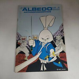 Albedo Anthropomorphics #4 Steven Gallacci 1985 Usagi Yojimbo Stan Sakai l2d85