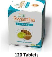 Swastha Triphala 120 tablet for Natural detoxification -Ayurvedic Fruit Supplemt