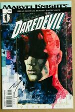 Daredevil 19 Signed David Mack Man Without Fear Brian M Bendis Marvel Knights NM