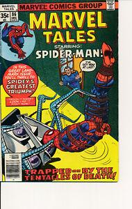 COMIC BOOK  -MARVEL TALES #85 1977 MARVEL COMICS SPIDERMAN F/VF- NICE COPY! L@@K