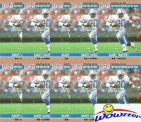 (10) 1990 Pro Set #1 Barry Sanders Lot Detroit Lions Hall of Famer Legend!