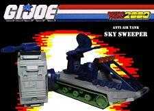 GI Joe Vehicle Battle Force 2000 Marauder Rear Tank Roller 1987 Original Part