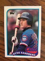 1989 Topps #360  Ryne Sandberg Chicago Cubs  NrMt