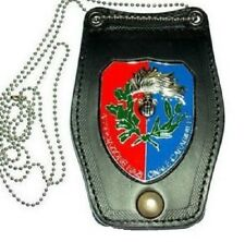 PORTAPLACCA da collo o cintura con scritta ASSOCIAZIONE NAZIONALE CARABINIERI