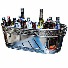 40% OFF BREKX Colt Hammered Stainless Steel Beverage Tub *CLEARANCE