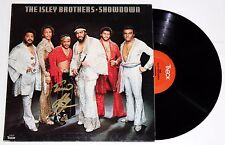 ERNIE ISLEY SIGNED THE ISLEY BROTHERS SHOWDOWN LP VINYL RECORD AUTOGRAPHED +COA