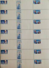 21 Etichette adesive personalizzate Frozen da bambina per scuola