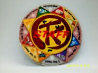 TANAH  KEETA  STAFF    PRINTED PATCH    PEEL OFF PAPER BACK  SEE PICTURES