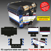 Kit COMPLETO adesivi COMPATIBILI bauletto top case BMW R1250HP ADV bags stickers