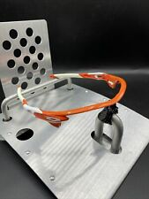 💙 Oakley Radarlock Atomic Orange Frames White Icons Fast Free S/H
