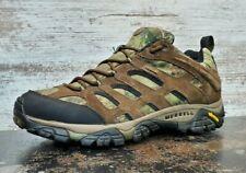 Merrell Moab Waterproof Hiking Shoes Sz 13 J21521 Mossy Oak Camouflage Camo