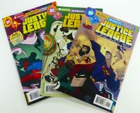 DC JUSTICE LEAGUE UNLIMITED #1 2 3 Batman ANIMATED SERIES Lot VF/NM Ships FREE!