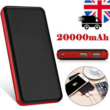 Poweradd 20000mah Portable Power Bank Dual USB Battery Charger for Cell Phone