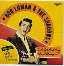 BOB LUMAN   EP FRANCE ROCK A BILLY COUNTRY LIMITED EDITION FOUR TRACKS 1958/59