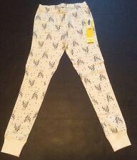 Old Navy S M L XL Pajama GIRLS Pants Snug-Fit Sleep Pants White NWT