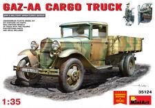 Miniart 35124 - 1/35 Military Car Gaz-AA Cargo Truck USSR Plastic Model Kit