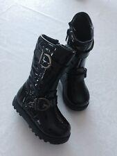 Baby Girl Bluezoo At Debenhams Black High Boots Size 4 New