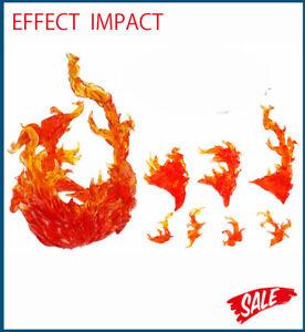 S.H.Figuarts Tamashii EFFECT BURNING FLAME Kamen Rider Saint Seiya Red Toys