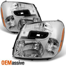 2005-2009 Chevy Equinox Headlights Lights Lamps Replacement 05-09 Left + Right