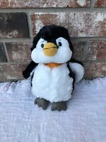 "Ganz Webkinz 9"" Penguin Plush NO CODE Stuffed Animal Black & White Toy"