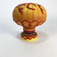 "Vintage Hot Air Balloon Ceramic Bank  5"" x 5"""