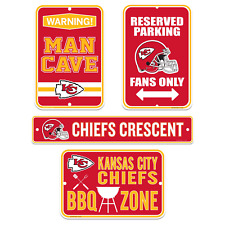 Kansas City Chiefs Four Pack Fan Sign Set
