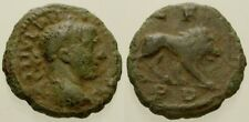 048. Roman Bronze Coin. PHILIP I, AE-16. Thrace. Lion. aVF