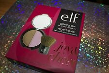 e.l.f. Glowing Star Blush and Bronzer Set Joy & Cheer + Free Eye & Lip Liner!