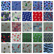 Printed Fabric Poly Cotton Dress Face Mask Sew Cheap Material Wholesale Job Lot
