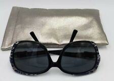 11a3464c993e Jimmy Choo LELA S ZS7 Black Leopard 57×18 Square RX Frame Only Sunglasses