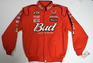 VINTAGE Dale Earnhardt Jr. Budweiser NASCAR Chase Jacket - Size: Adult (L) Large